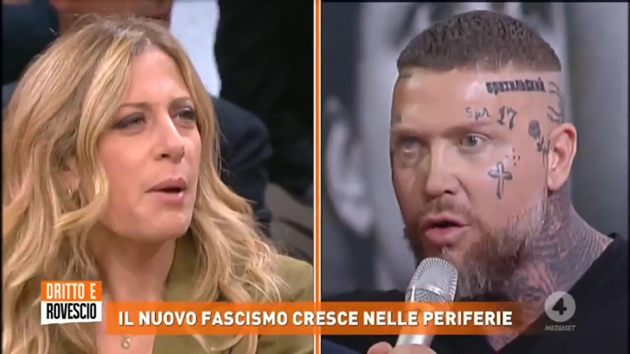 """Dritto e Rovescio, tensione tra Vauro Senesi e """"Brasile"""""""