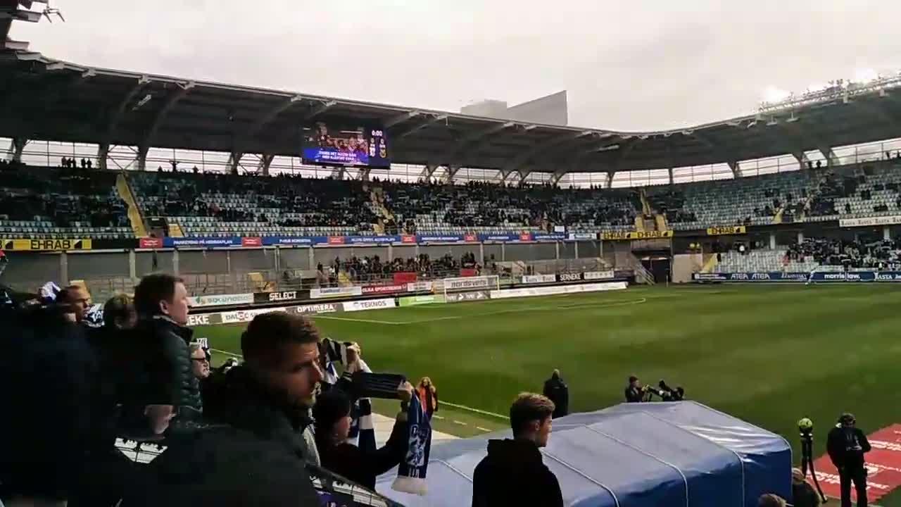 Il meglio di IFK Göteborg-Östersunds e l'addio di Lasse Vibe