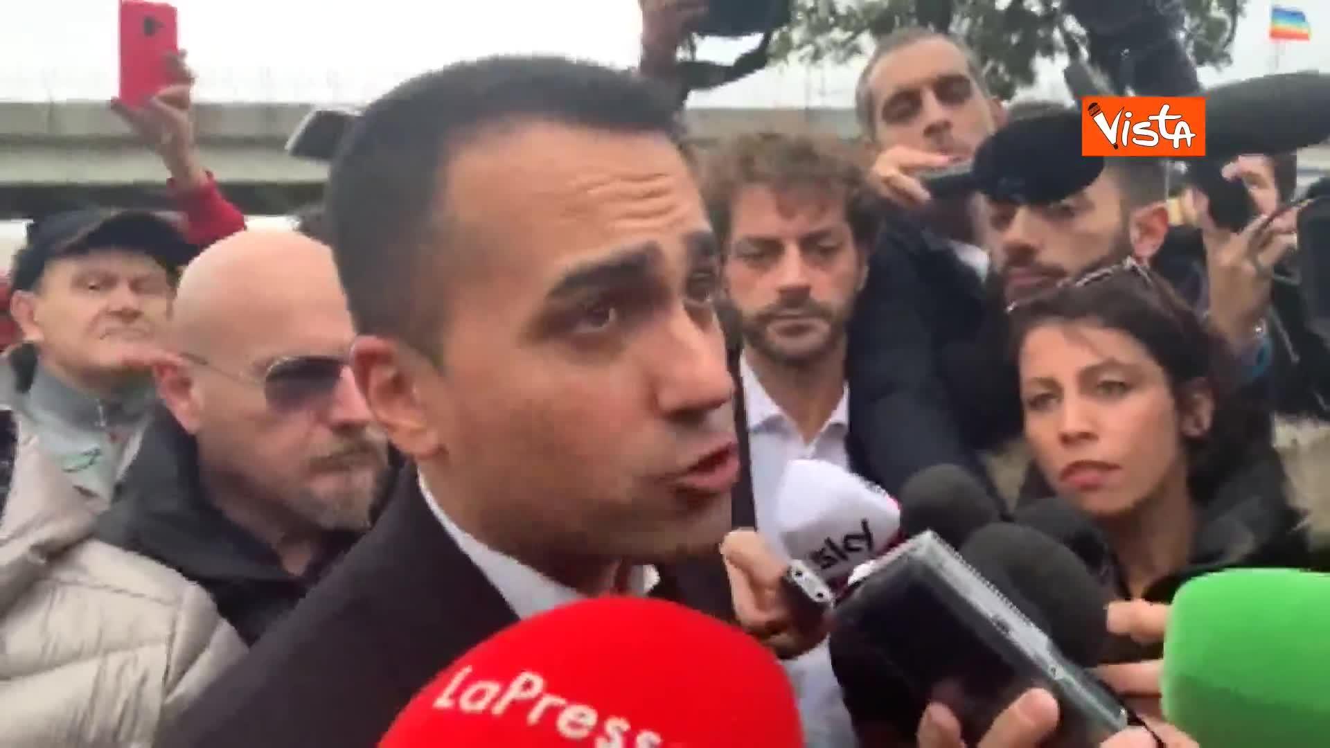 """ArcelorMittal, Di Maio: """"Nessun piano B, bisogna mettere pressione all'azienda"""""""