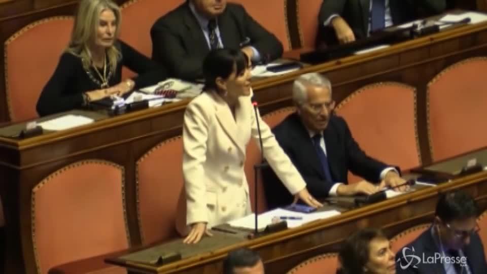 """Bagarre in Senato su Cannabis, La Russa urla: """"Drogato"""""""